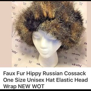 0222bc7aada g Accessories - Faux fur Russian cossack hat rap one size new wot